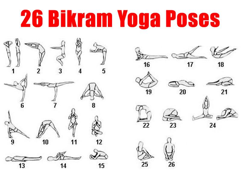 Йога для начинающих - упражнения (позы, асаны)