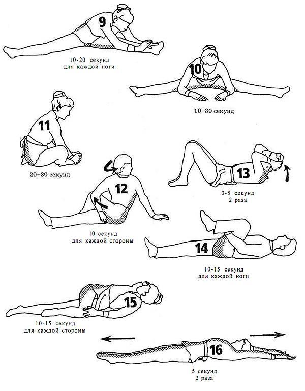 Упражнения на растяжку: самые эффективные и простые упражнения для начинающих. поэтапная растяжка для любого возраста (75 фото)
