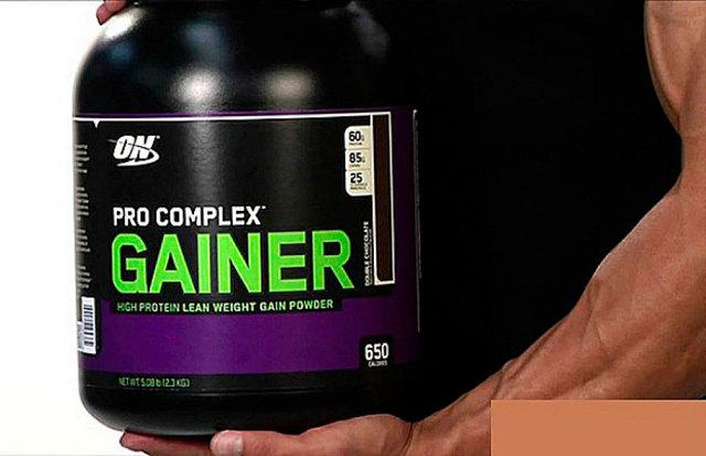 Как принимать pro complex gainer от optimum nutrition для набора мышечной массы?
