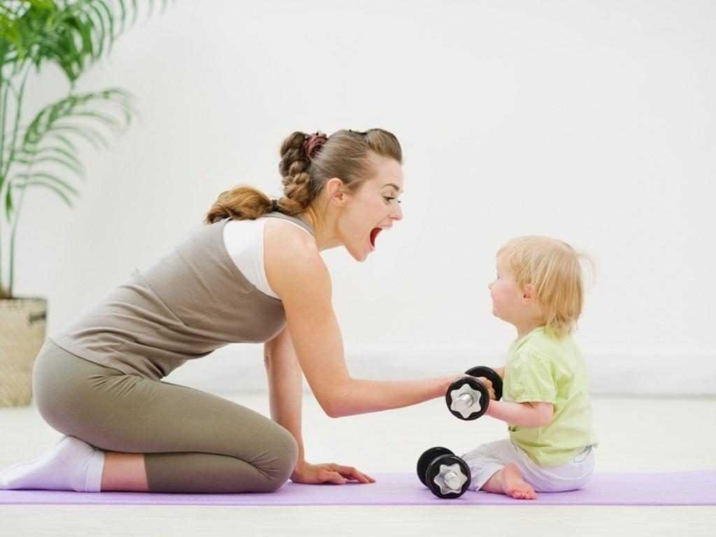 8 простых правил похудения после родов без вреда ребенку