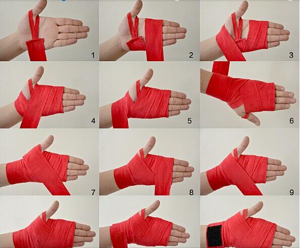 Как намотать боксерские бинты на руки? пошаговая инструкция! в домашних условиях | для девушек и мужчин