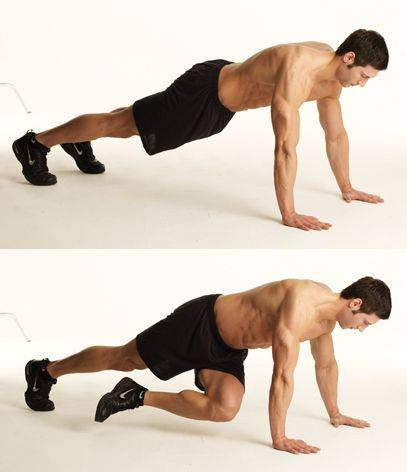 Альпинист упражнение какие мышцы - спорт и питание