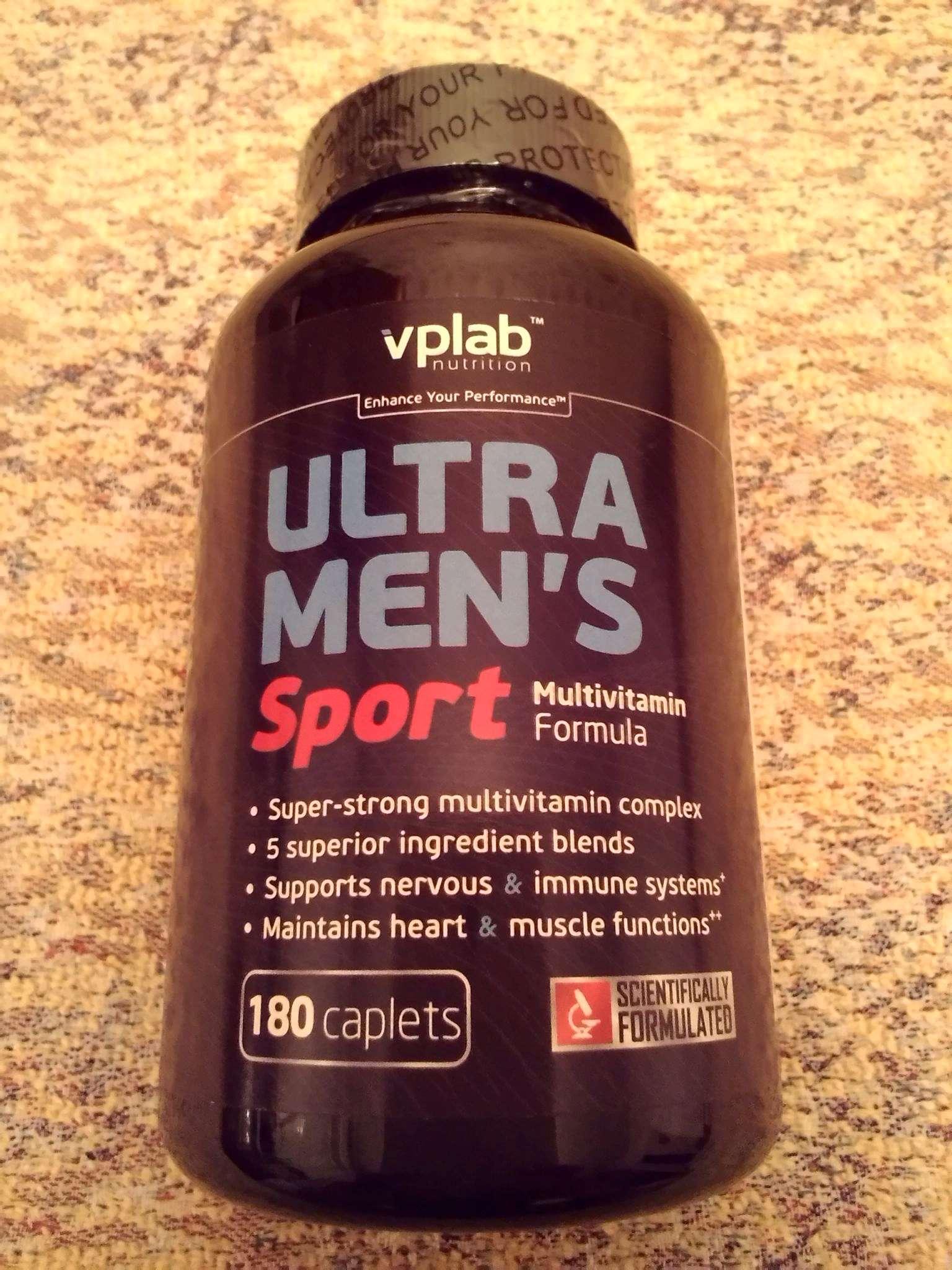 Витамины vplab ultra men s sport multivitamin formula 90 капсул