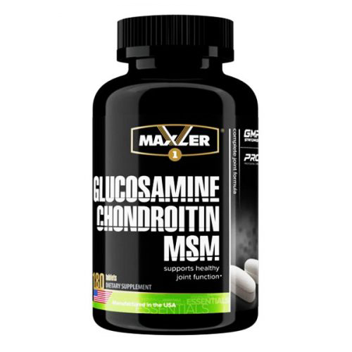 Glucosamine chondroitin msm 90 табл (maxler)