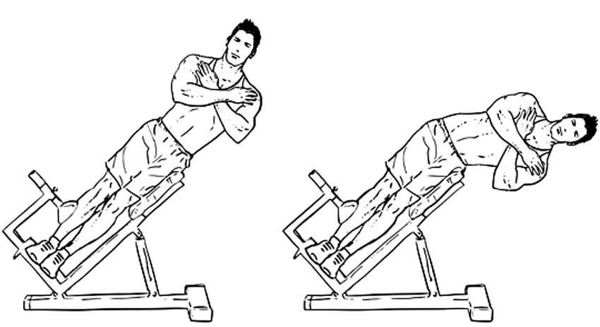 Гиперэкстензия: техника выполнения, виды и особенности упражнения