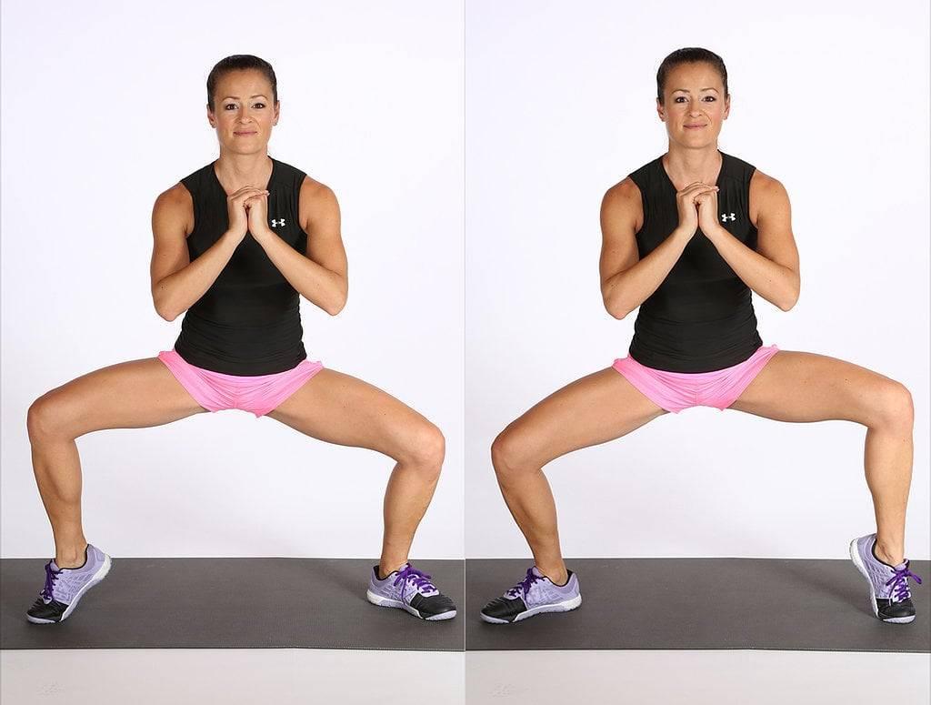Лучшие упражнения для внутренней части бедра