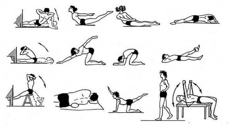 Комплексы эффективных упражнений при сколиозе – как добиться идеальной осанки