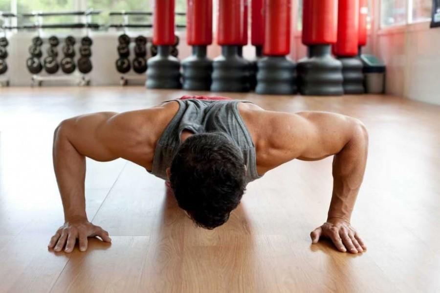 Схема отжиманий от пола: как составить график отжиманий для роста мышц