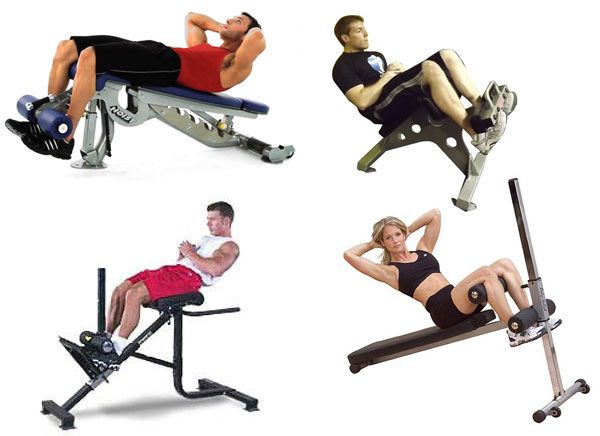 Римский стул: виды тренажеров, как делать скручивания и подъем туловища на римском стуле