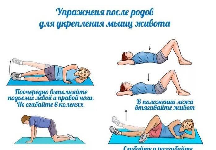 Гимнастика после родов: функции, советы, комплексы упражнений
