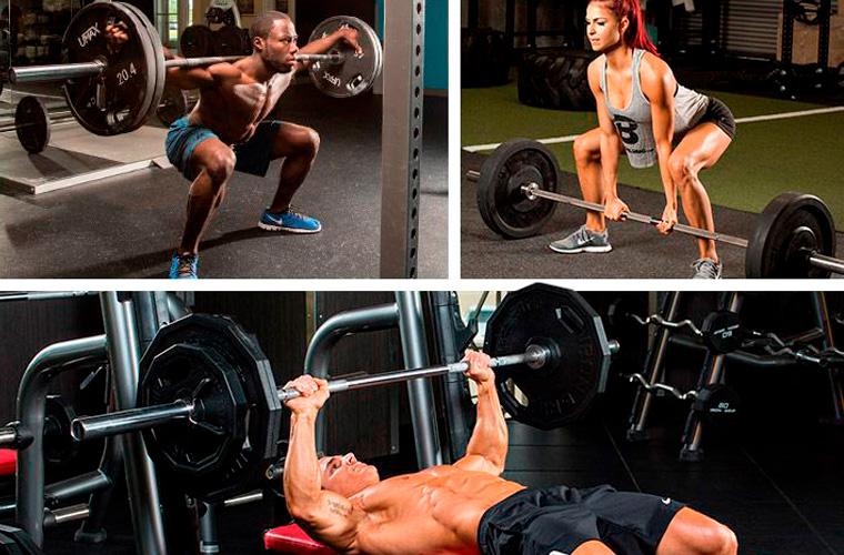 Почему нужно делать жим, становую тягу и присед – o sporte