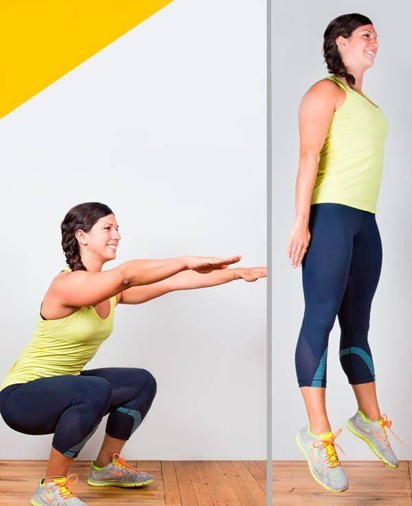 Упражнения для снижения веса - эффективный комплекс занятий для похудения