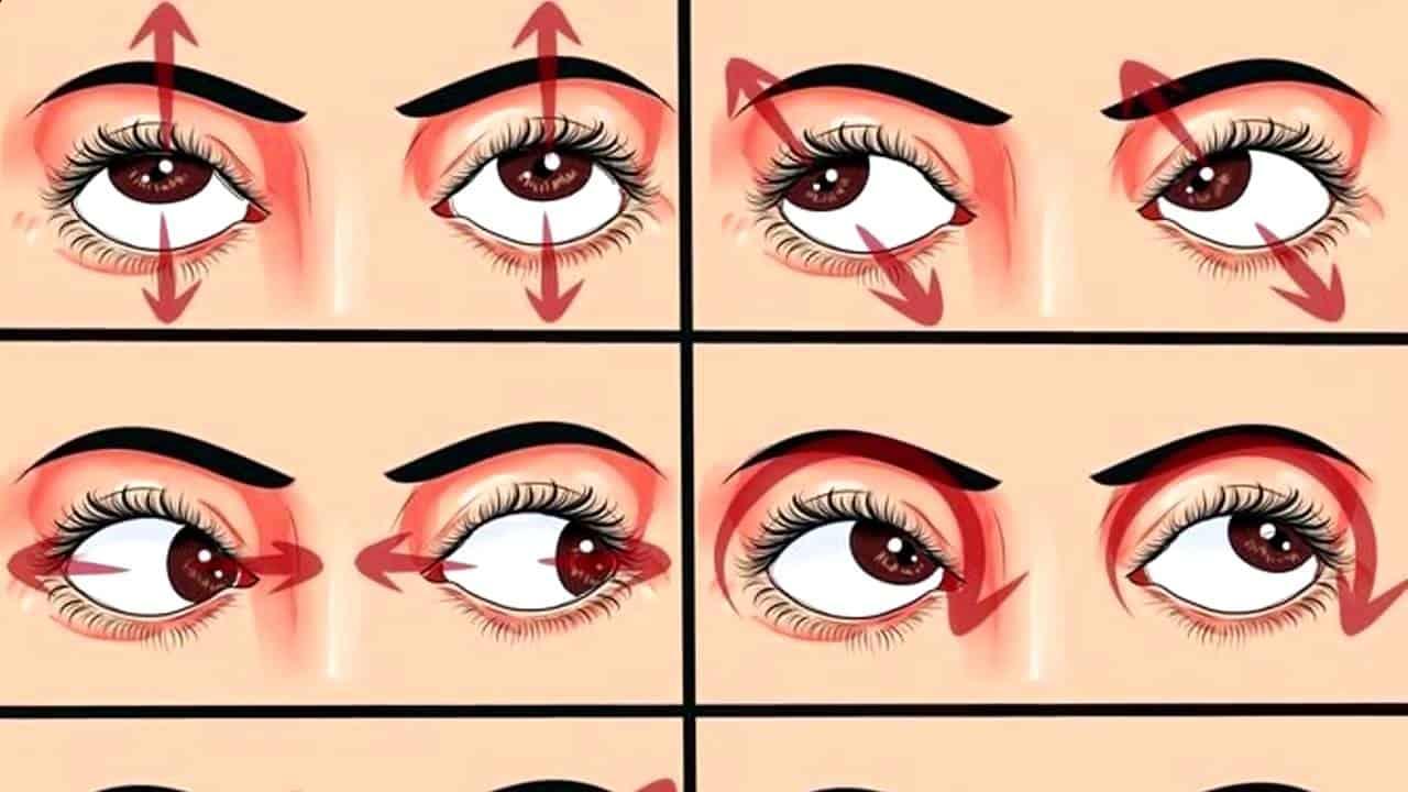 Способы улучшить зрение дома различными упражнениями