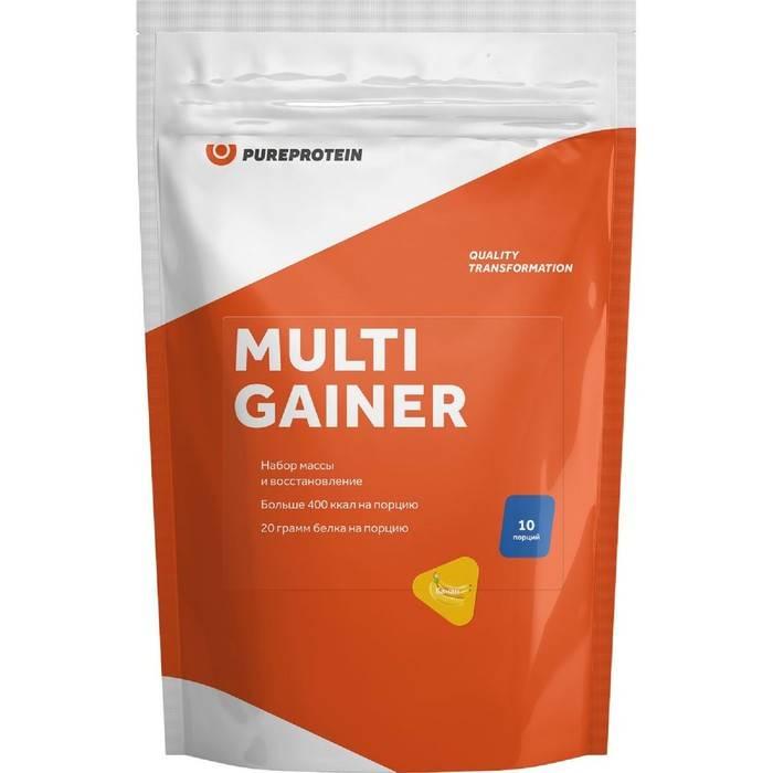 Мультикомпонентный гейнер pureprotein — отзывы. отрицательные, нейтральные и положительные отзывы