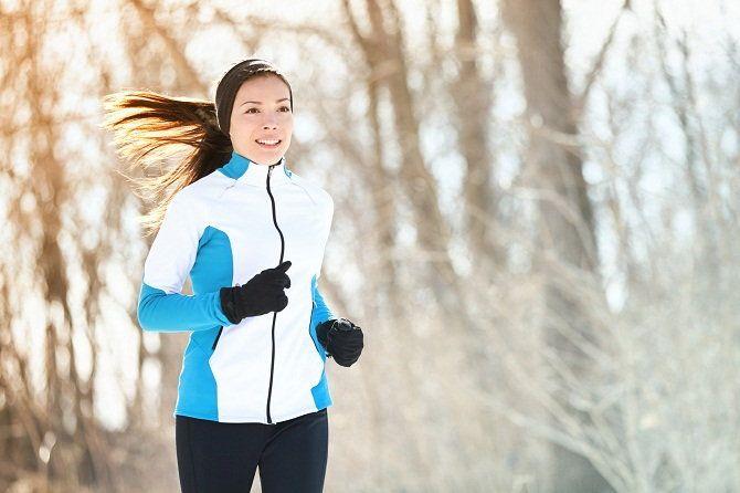 Как бегать зимой на улице: выбор одежды и правила безопасности