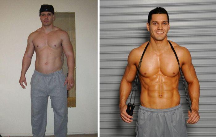 Как мужчине накачать красивое тело