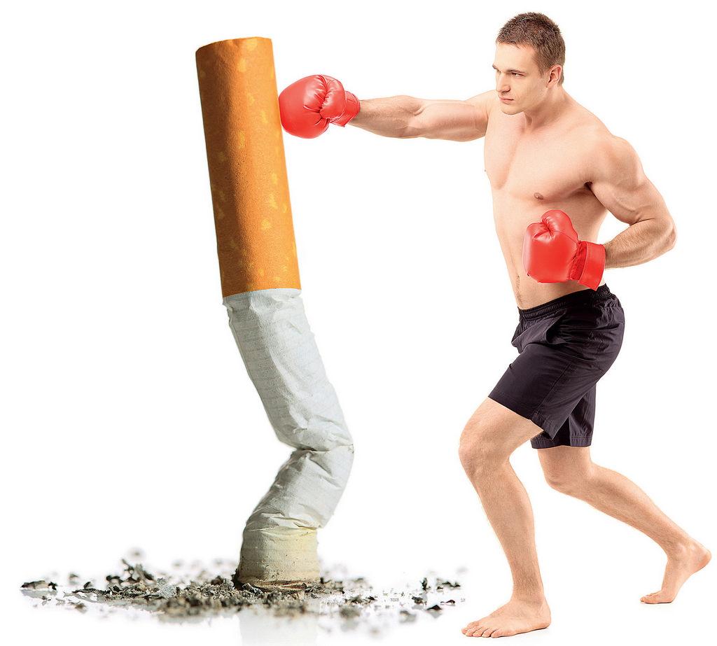 Курение и бодибилдинг: вред курения после тренировки