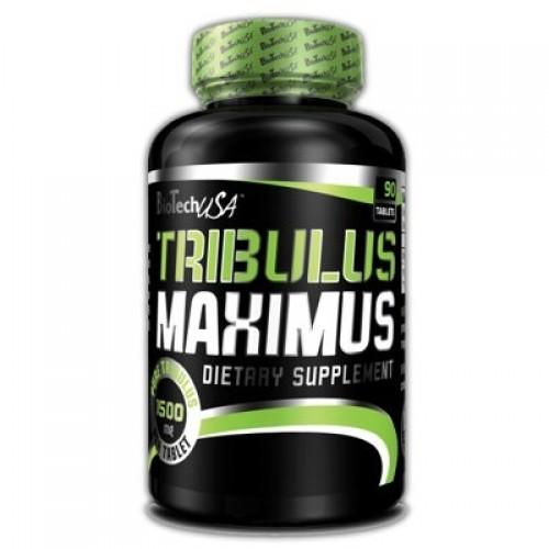 Tribulus maximus extra strong  1500 mg 90 табл (biotech usa)