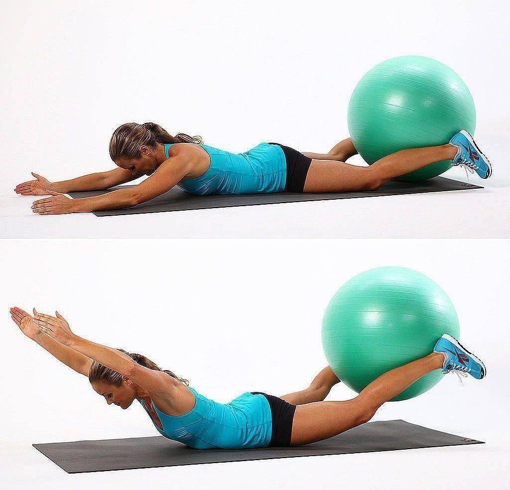 Фитбол - польза и вредя упражнений на фитболе для похудения (фото-инструкция)