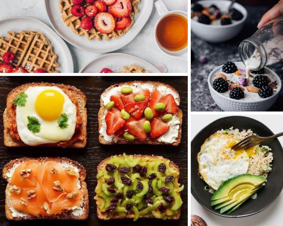 Рецепты пп-завтраков для похудения: полезно и вкусно