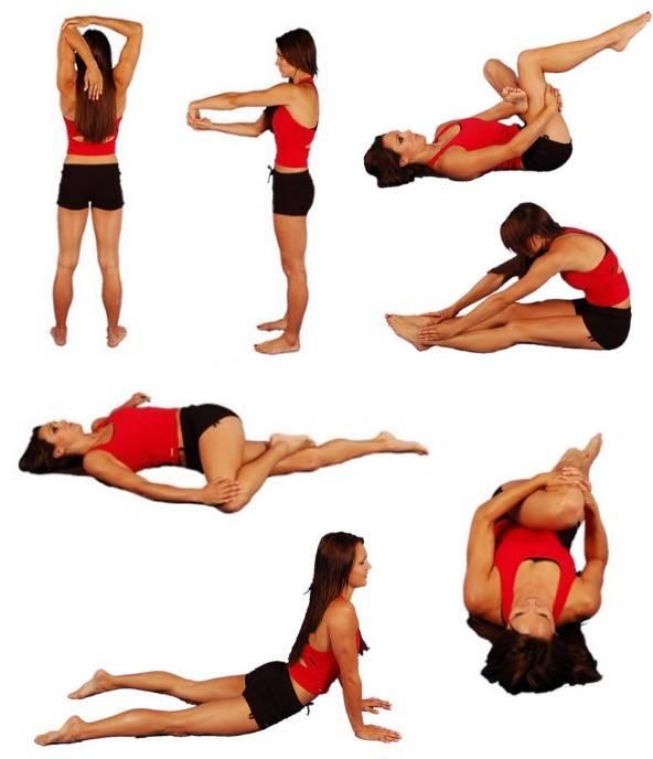 Топ-30 упражнений для растяжки всего тела: фото + план