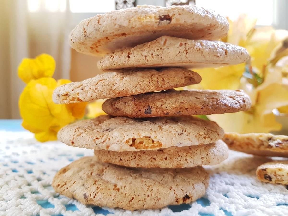 Протеиновое печенье  по простому пошаговому рецепту с фото