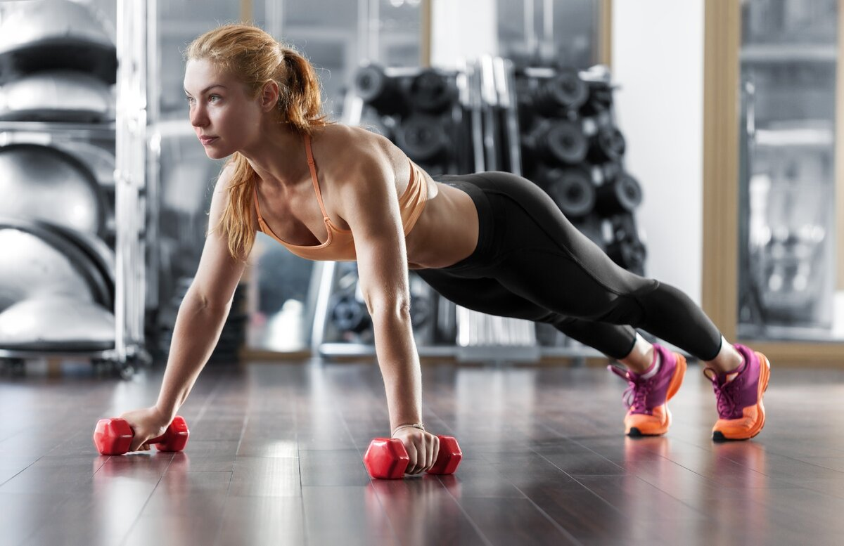 Мифы о силовых тренировках для женщин  - здоровая россия