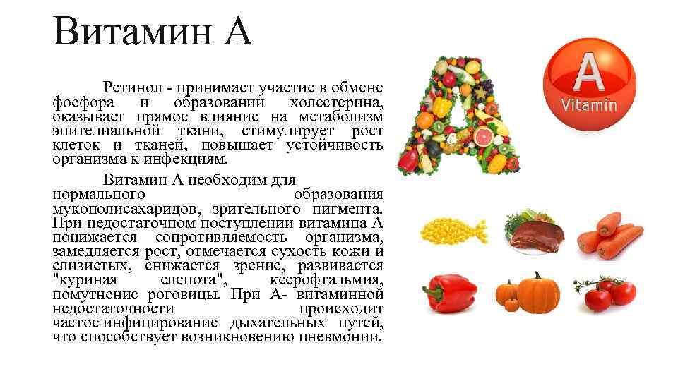 Все что нужно знать о витамине а + где содержится (список из 148 продуктов)