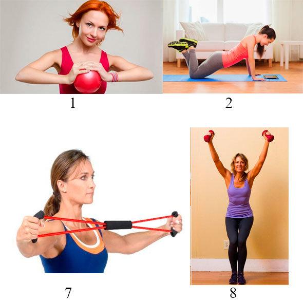 Как девушке накачать грудные мышцы: упражнения для зала и дома (фото и видео)