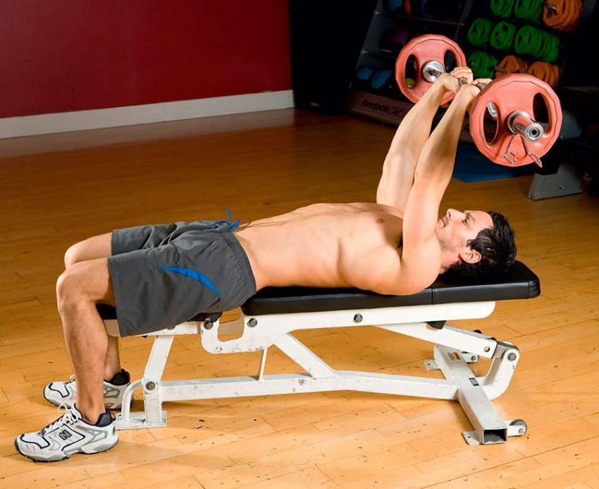 Упражнение пуловер для грудных мышц ✪ какие виды есть, как правильно делать