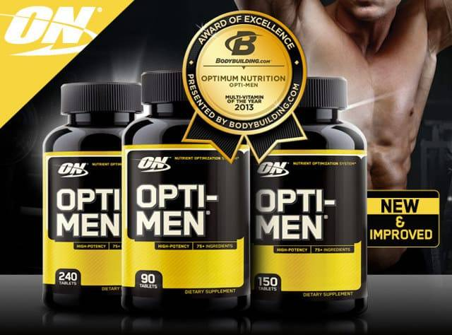 Витамины opti men: состав и как принимать