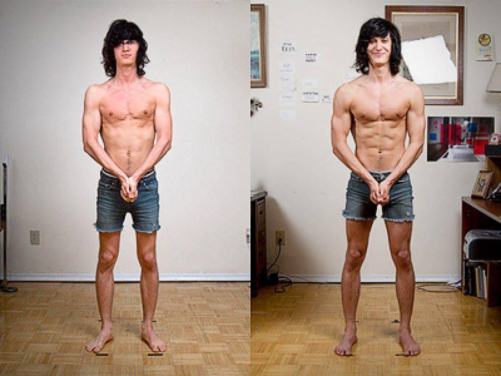 Как набрать массу тела худому парню: питание и тренировки эктоморфу