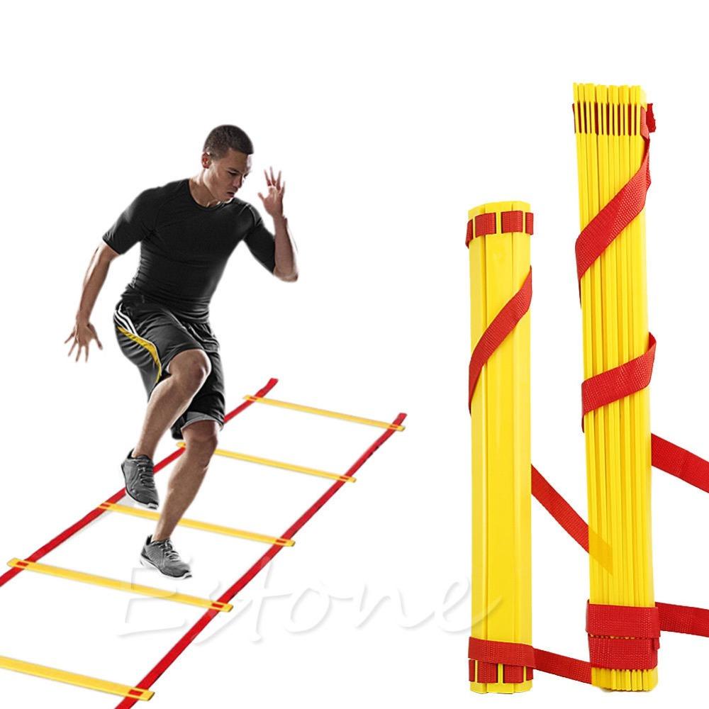Бокс - тренировка на координационной лестнице
