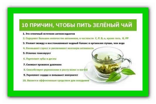 Зеленый чай c молоком для похудения