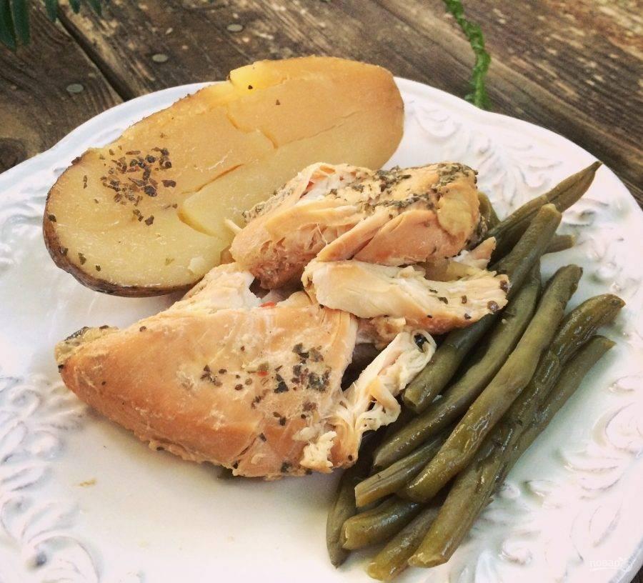Куриная грудка в мультиварке: рецепты с фото