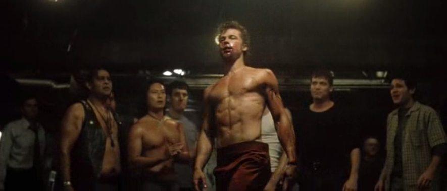 Как накачать грудь, как у бреда пита в фильме «бойцовский клуб»?