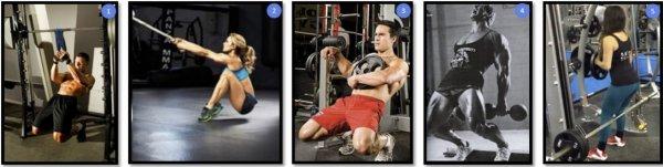 Сисси-приседы на квадрицепсы, фото и видео техники выполнения упражнения