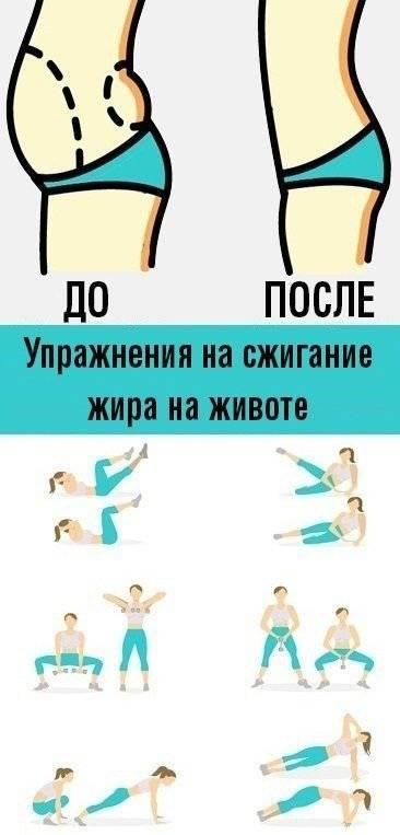 Упражнения для сжигания жира на животе: для мужчин и женщин