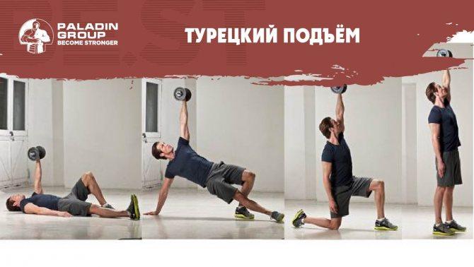 Становая тяга с гирей – тренировка ног и спины