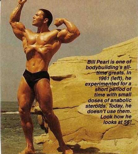 Билл Перл и его стиль жизни