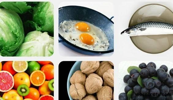 Какие продукты полезны для зрения?