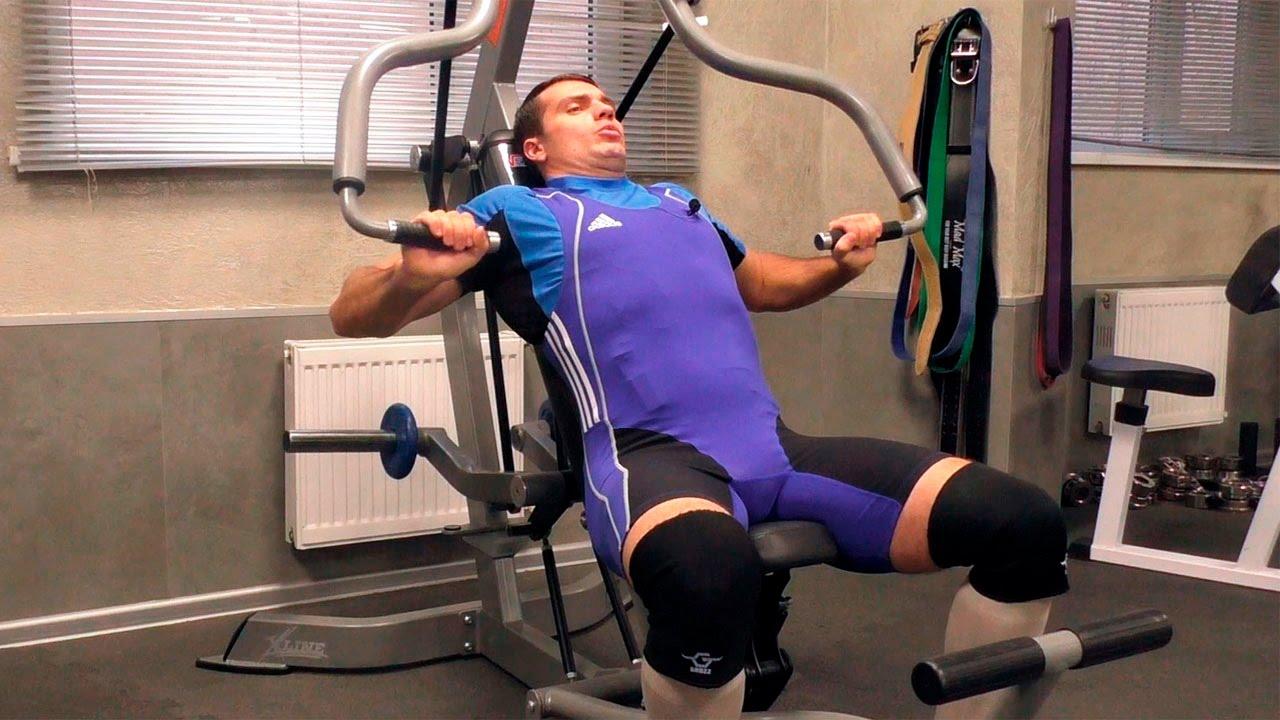 Рычажная тяга – эффективное упражнение в тренажере хаммер для мышц спины