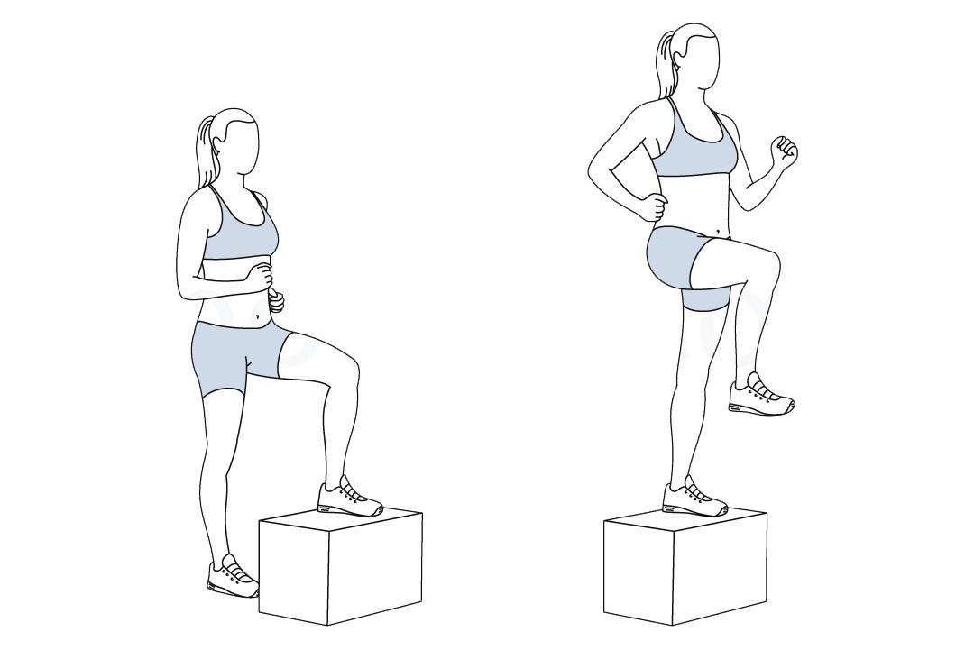 Упражнения с покрышкой