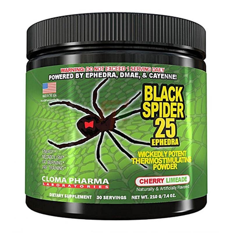 Black spider жиросжигатель побочные действия