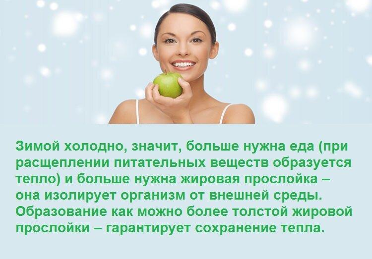 » зимняя диета