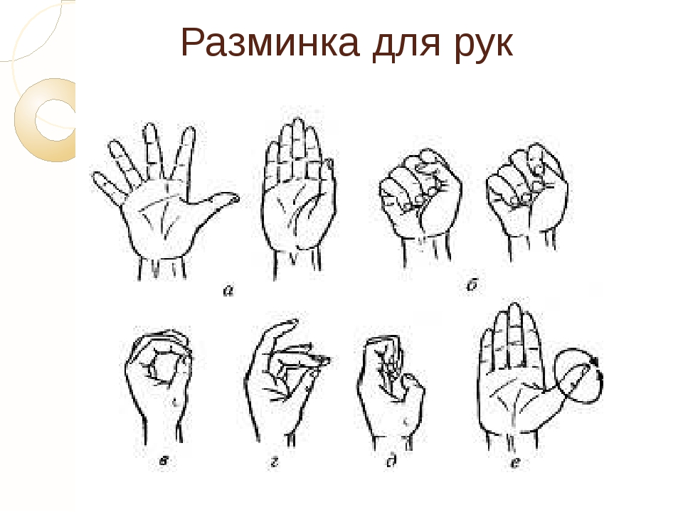 Комплекс гимнастики для суставов пальцев рук | запитание
