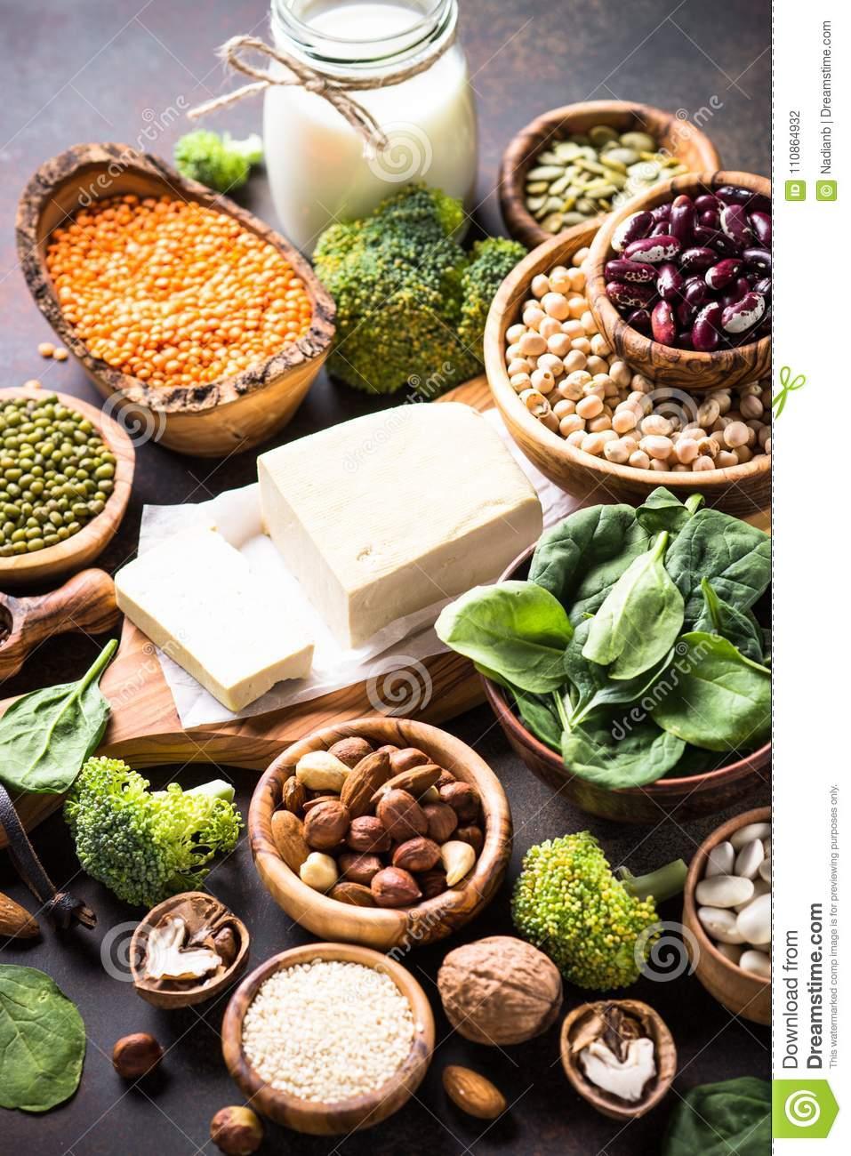 Продукты с высоким содержанием белка для вегетарианцев