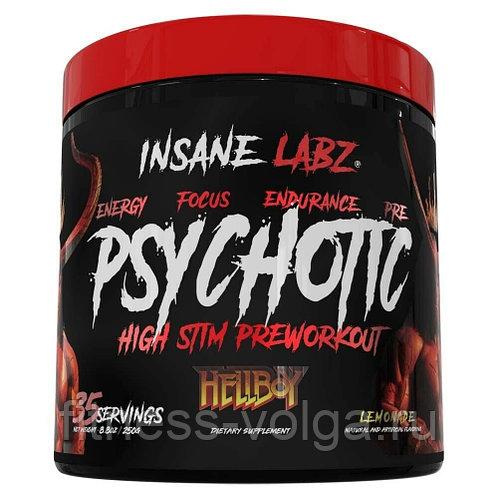 Психотик – предтренировочный комплекс. insane labz psychotic – отзывы