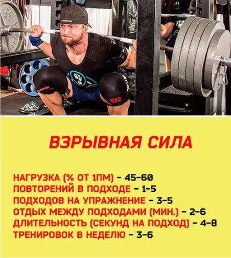 Оптимальное число повторений для роста мышц