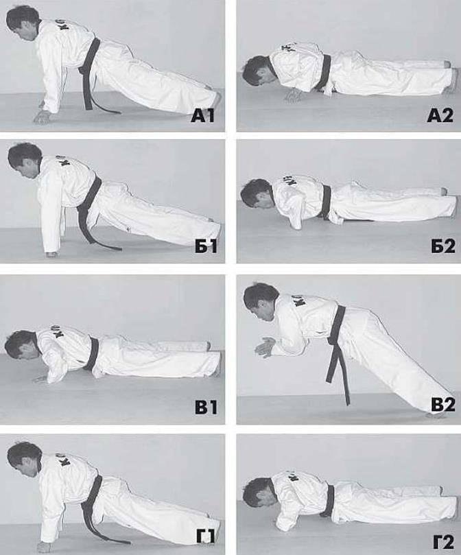 Упражнения для удара рукой: самые эффективные